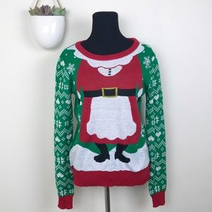NWT Holiday Sweater Mrs. Clause